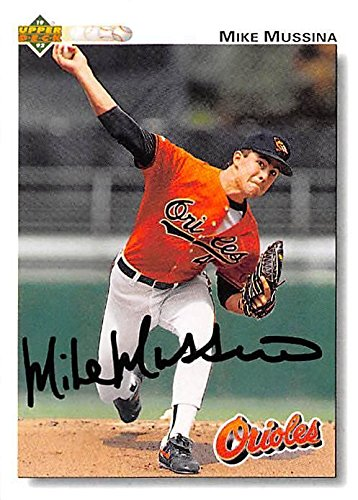 Mike Mussina autographed Baseball Card (Baltimore Orioles...