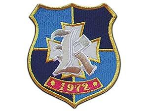 WS_COS Clannad Cosplay Accessory Hikarizaka High School Blue Iron Badge