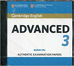 Cambridge English Advanced 3 Audio CDs (CAE Practice Tests