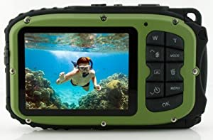 Coleman Xtreme C5WP 12 MP 33ft Waterproof Digital Camera by ELIGN