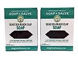 Cheap Chagrin Valley Soap & Salve – Organic Natural Soap Bar – Dead Sea Black Clay 2X Pack
