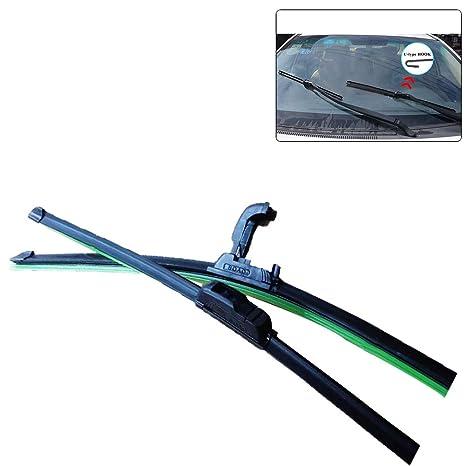 Universal Suave tipo U Goma sin soporte sin marco Parabrisas de coche Escobilla de limpiaparabrisas 14