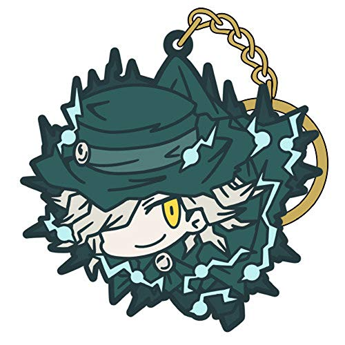 Fate/Grand Order Avenger Gankutsuo Edmond Dantes Character Tsumamare Pinch Rubber Key Chain Mascot Collection Anime