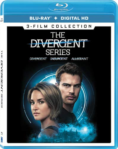 The Divergent Series 3-Film Collection [Blu-ray] (Digital Download Divergent)
