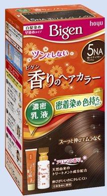 ビゲン 香りのヘアカラー 乳液 5NA 深いナチュラリーブラウン × 27個セット B0727PXLTX  27個