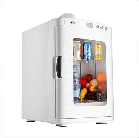 Refrigerador del coche, blanco 12v Mini portátil pequeño ...