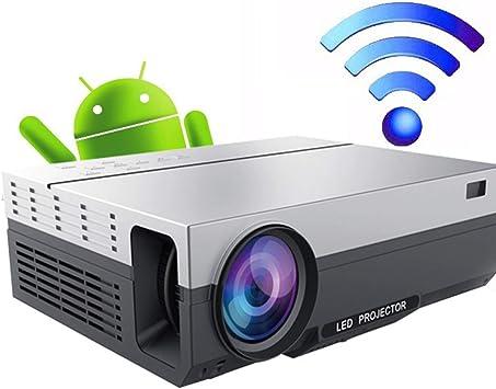 LMYG WiFi Proyector Full HD 1080P Y 200-Pulgadas De Pantalla, 8000 ...