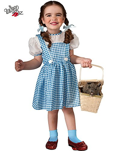 Dorothy Of Oz Halloween Costume (Toddler Wizard of Oz Dorothy)