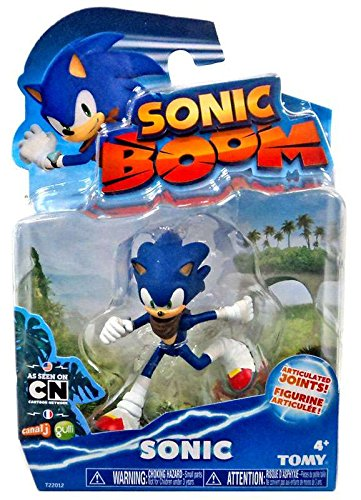 "Sonic The Hedgehog Sonic Boom Sonic 3"" Articulated Action Figure #22012"