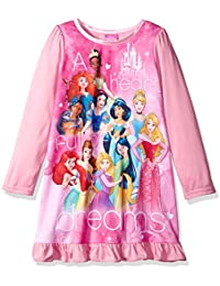 Girls' Multi-Princess Nightgown With Matching Doll Gown