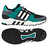 Adidas Originals Equipment Running Support '93 Black/White/Sub Green Men's Shoes (size 10) Review