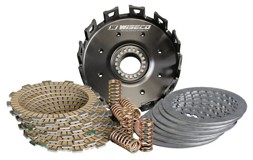 (Wiseco PCK001 Performance Clutch Pack and Forged Billet Basket Kit)
