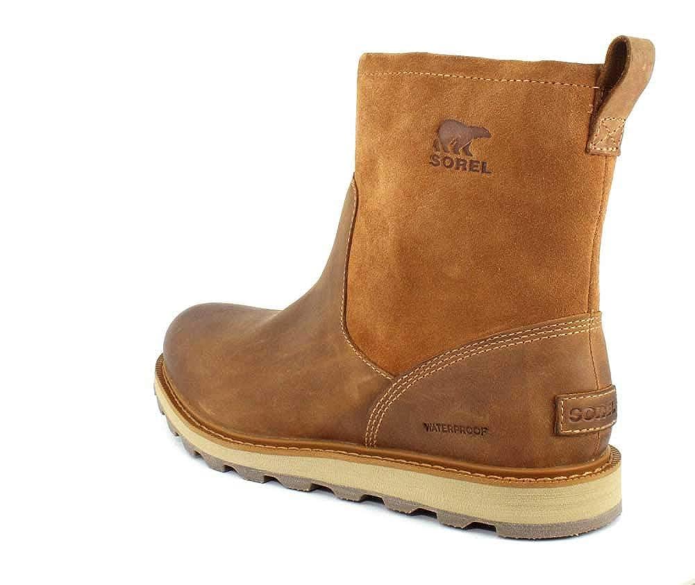 SOREL Mens Madson Zip Waterproof Elk Natural Boot 13