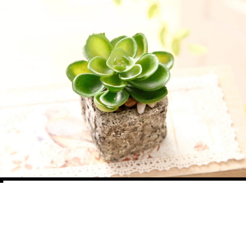 LIUYU Kit De Fleurs Artificielles Pastorales/Pots à Fleurs Mini Décoration/ Décoration Souple De Bureau S ...