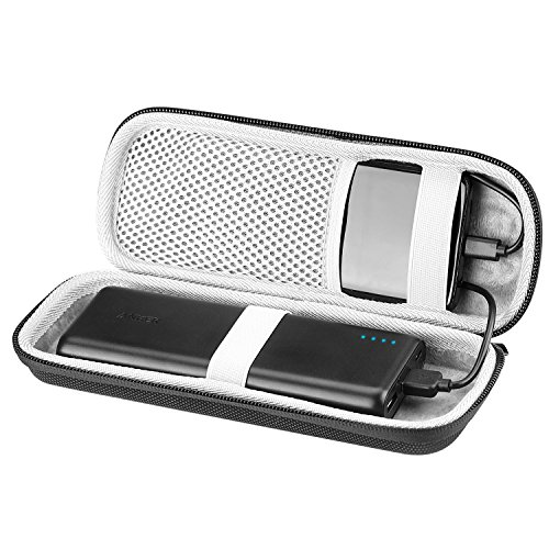 DG-Direct Travel Bag Shockproof Hard EVA Case for Anker 20100mAh Portable Charger Powercore External Power Bank (Black)