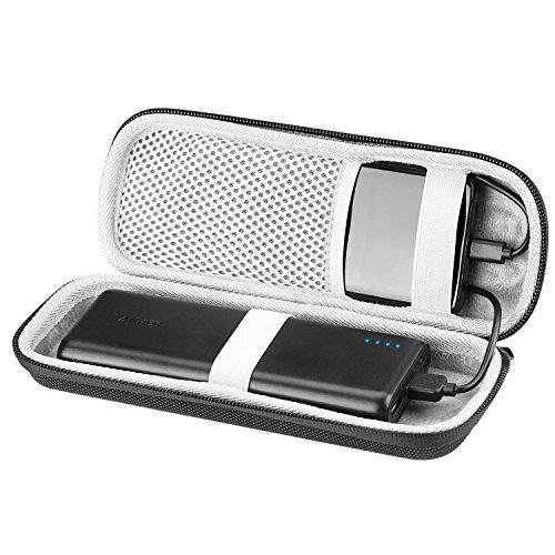 DG-Direct Travel Bag Shockproof Hard EVA Case for Anker 20100mAh Portable Charger Powercore External Power Bank (Black)