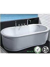 Bathtubs Amazon Com Kitchen Amp Bath Fixtures Bathroom