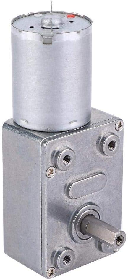 Motor de gusano DC24V duradero, motor, máquina de anidación de engranajes metálicos para campana(24V, 6RPM)