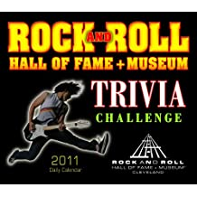 Rock and Roll Hall of Fame Trivia Challenge 2011 Daily Boxed Calendar