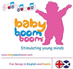 babyboomboom Scottish Gaelic: Fun Songs and Nursery Rhymes in Scottish Gaelic and English