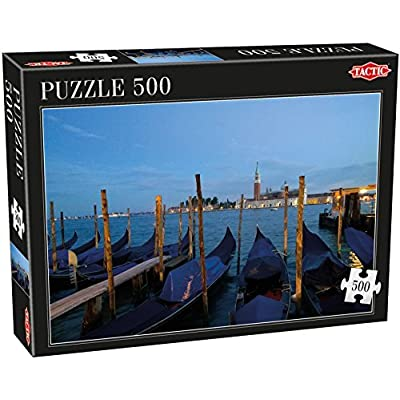 Tactic Games Venice Puzzle 500 Piece By Tactic Games