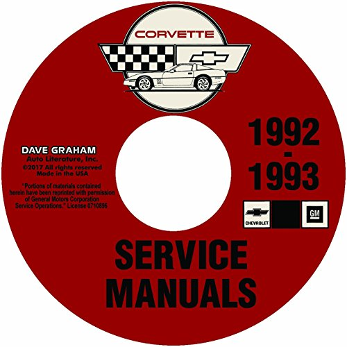 1992-Chevy-Corvette-Shop-Manual-Set-on-CD-ROM-2-Volumes-Repair-Service