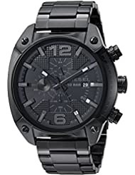 Diesel Mens DZ4223 Advanced Black Watch