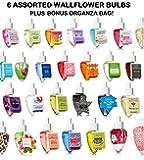 Bath & Body Works - Grab Bag Assorted Bundle of SIX (6) Wallflower Bulbs