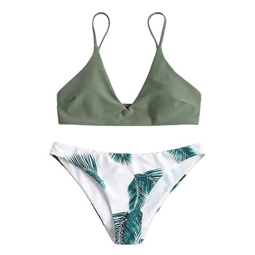 b009f56b0065 Amazon.com: Best SENDRY Women Print Push-Up Sunflower Padded Bra Beach  Bikini Set Swimsuit Beachwear Swimwear: Clothing