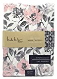 Nicole Miller Home 60 x 84 Soft Pink and Grey Floral Tablecloth