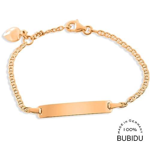 Taufarmband Rose Gold Gravur Taufe 925 Silber Id Armband