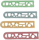 6 In. Stencil Rulers-36 Pcs (11 Pieces) - 6 In. Stencil Rulers-36 Pcsthis Stencil Ruler Is A Fun Addition To Your School Supplies. Each Piece Contains A Ruler And Stencil For Creating A Work Of Art.