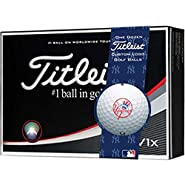 Titleist Pro V1x MLB Golf Balls | New York Yankees