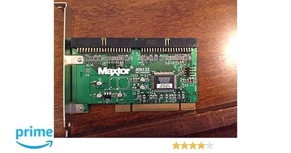 MAXTOR ATA 133 CONTROLLER CARD DOWNLOAD DRIVERS