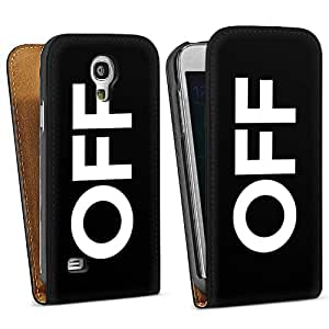 Diseño para Samsung Galaxy S4 Mini I9195 DesignTasche Downflip black - OFF