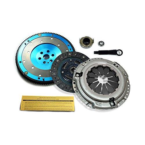 Billet Aluminum Flywheel - EFT PREMIUM CLUTCH KIT & BILLET ALUMINUM FLYWHEEL FOR HONDA CIVIC DEL SOL D15 D16 D17