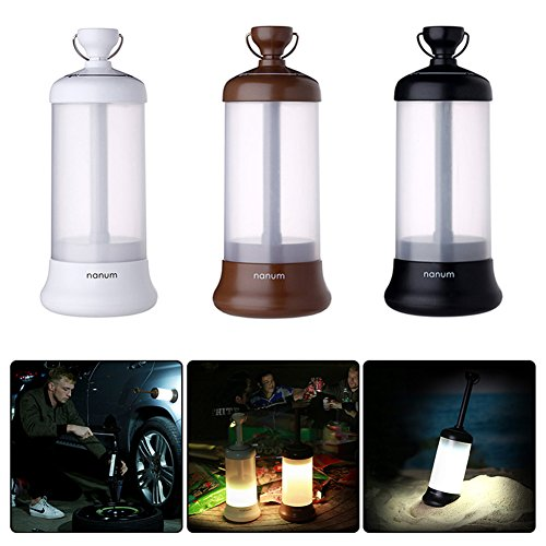 Rechargeable Camping Lantern Vehicle Mounted Travel Light, Multi-function Rechargeable Outdoor LED Lantern Flashlights Tent Light with Strong Magnet for Fishing/Hiking/Camping Emergency(white) 123 Lantern Light