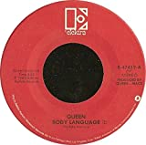 QUEEN 45 RPM Life Is Real (Song For Lennon) / Body Language