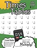Times Tables: 100 Practice Pages - Timed Tests