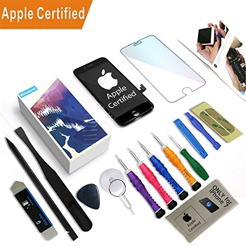 iPhone 7 Screen Replacement Digitizer Repair LCD replacement Kit iPhone 7(4.7inch) scrren assembly Black
