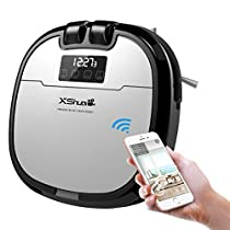 HoLife Robotic Vacuum Cleaner Amazon Alexa Control, Camera for Video Chat Self-charging with Water Tank, Auto Sweeping Mopping for Hard Floor Carpet Cat Dog Hair Fur Tiles