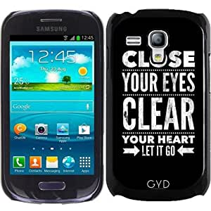 Funda para Samsung Galaxy S3 Mini (GT-I8190) - Cierra Tus Ojos by wamdesign