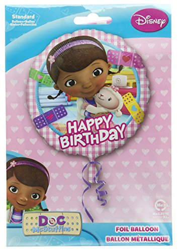 Anagram International HX Doc McStuffins Happy Birthday Party Balloons, Multicolor]()
