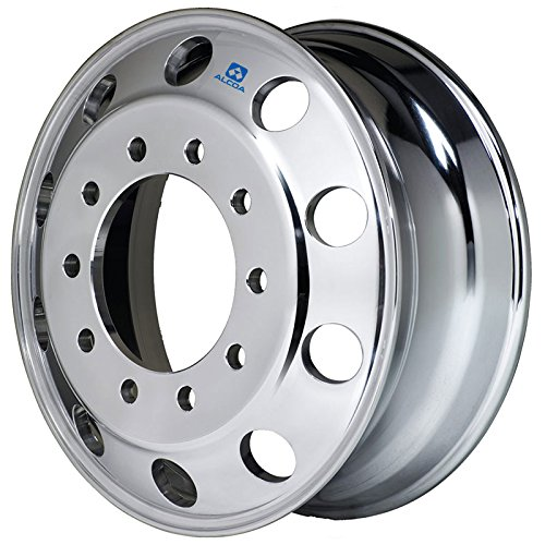 Alcoa 19.5'' x 6'' Polished Front for Ford F450/F550 & Dodge 4500/5500 (763291) by Alcoa