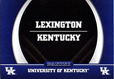 2016 Panini Collegiate Team Set Card #2 Map University of Kentucky