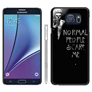 Durable High Quality American Horror Story (3) Black Samsung Galaxy Note5 Screen Phone Case