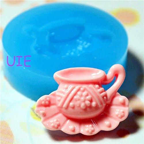 042LBF Mini Teapot Mold Silicone Mold Dollhouse Miniature Deco Polymer Clay Scrapbooking Mold Gumpaste Fondant Resin Mold (Mold Soap Miniature)