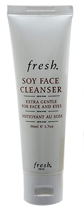 fresh soy formula f21c face cleanser 1.7 oz (sealed not in box) 100% Natural Raw Black Facial Cleansing Bar - 5.25 oz. by Dr. Woods (pack of 3)