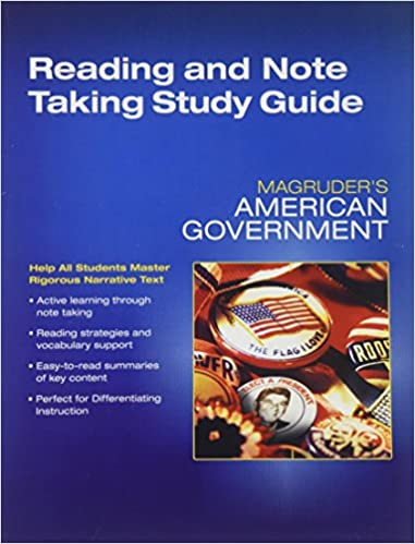 Magruders American Government Reading And
