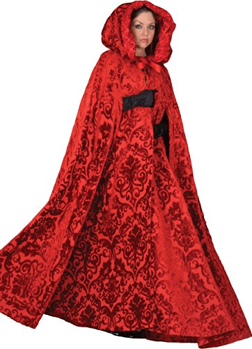 Deluxe Little Red Riding Hood Storybook Princess Cape- Theatrical Quality